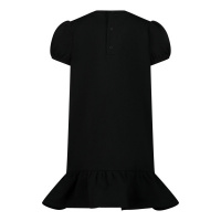 Afbeelding van Moschino MDV08U babyjurkje zwart