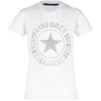 Picture of Airforce B0597 kids t-shirt white
