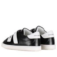 Afbeelding van Dolce & Gabbana DN0098 kindersneakers zwart