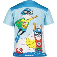 Afbeelding van Dolce & Gabbana L1JT6N G7QXA baby t-shirt blauw