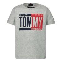 Afbeelding van Tommy Hilfiger KB0KB04994B baby t-shirt grijs