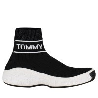 Afbeelding van Tommy Hilfiger EN0EN00406 dames sneakers zwart