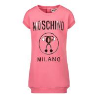 Afbeelding van Moschino MDV095 babyjurkje roze
