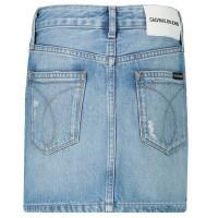 Afbeelding van Calvin Klein IG0IG00092 kinderrokje jeans