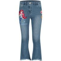 Afbeelding van MonnaLisa 193417RH kinderbroek jeans