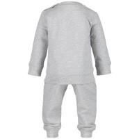 Afbeelding van Moncler 8812505 baby joggingpak grijs