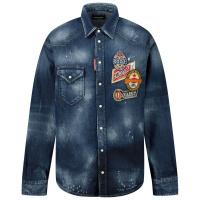 Afbeelding van Dsquared2 DQ047M kinder overhemd jeans