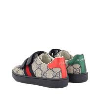 Afbeelding van Gucci 463088 9C220 kindersneakers navy