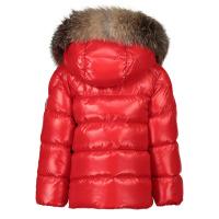 Afbeelding van Moncler 1A52602 babyjas rood