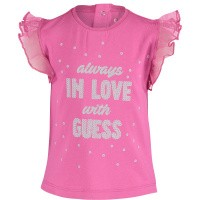 Afbeelding van Guess A91I08 baby t-shirt fuchsia