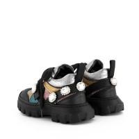 Afbeelding van Andrea Montelpare 63149 kindersneakers zwart
