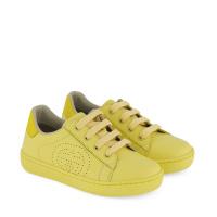 Afbeelding van Gucci 626619 kindersneakers geel
