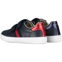 Picture of Gucci 455447 CPWP0 kids sneaker navy