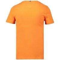 Picture of Tommy Hilfiger KB0KB04992 kids t-shirt orange