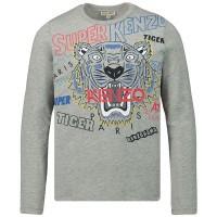 Afbeelding van Kenzo KP10708 kinder t-shirt grijs