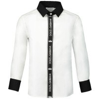 Afbeelding van Dolce & Gabbana L42S98 kinder overhemd wit