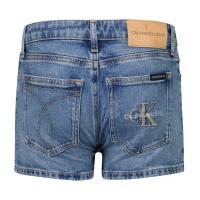 Afbeelding van Calvin Klein IG0IG00449 kinder shorts jeans