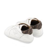 Afbeelding van Fendi BUR083 ADGA babyschoenen wit