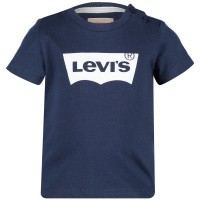 Picture of Levi's NN10124 baby shirt navy