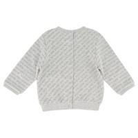 Afbeelding van Boss J95276 baby trui licht grijs