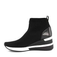 Afbeelding van Michael Kors 43F7SKFE5D dames sneakers zwart