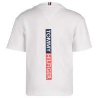 Afbeelding van Tommy Hilfiger KB0KB04679 B baby t-shirt wit