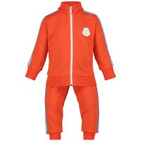 Afbeelding van Moncler 8812605 baby joggingpak oranje