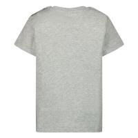 Afbeelding van Moschino MZM02A baby t-shirt grijs