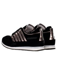 Picture of Dsquared2 57102 kids sneakers black