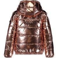 Picture of Kenzo KM42018 kids jacket brass