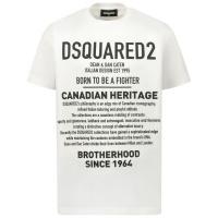 Afbeelding van Dsquared2 DQ046W kinder t-shirt wit
