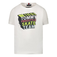 Afbeelding van Tommy Hilfiger KB0KB06520 B baby t-shirt wit