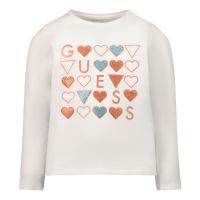 Afbeelding van Guess K1BI19 B baby t-shirt off white