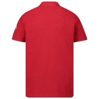 Afbeelding van Moncler 8A70320 kinder polo rood