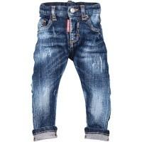 Afbeelding van Dsquared2 DQ01TC D00SM babybroekje jeans