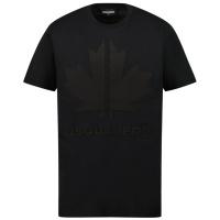 Afbeelding van Dsquared2 DQ0295 kinder t-shirt zwart