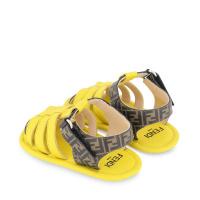 Afbeelding van Fendi BUR084 AEYJ babyschoenen geel
