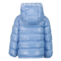 Afbeelding van Moncler 1A55920 babyjas licht blauw