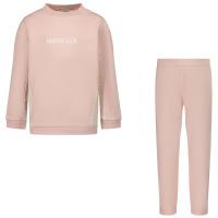 Afbeelding van Moncler 8M77310 baby joggingpak licht roze