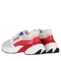 Picture of Pinko 1H20LZ womens sneakers white