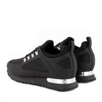 Afbeelding van mallet TE1017 heren sneakers zwart