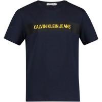 Afbeelding van Calvin Klein IB0IB00029 kinder t-shirt navy