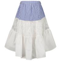 Afbeelding van MonnaLisa 117704 kinderrokje blauw/wit