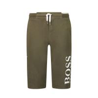 Afbeelding van Boss J24M28 kinder shorts army