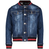 Picture of My Brand BMBJA16G3001 kids jacket jeans