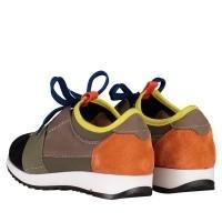 Afbeelding van Coccinelle 6328 kindersneakers army