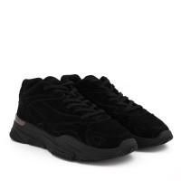 Afbeelding van mallet TE1050 heren sneakers zwart