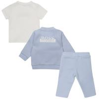 Afbeelding van Boss J98307 baby joggingpak licht blauw