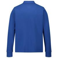 Afbeelding van Moncler 8B70720 kinder polo cobalt blauw