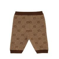 Afbeelding van Gucci 574620 babybroekje beige/bruin